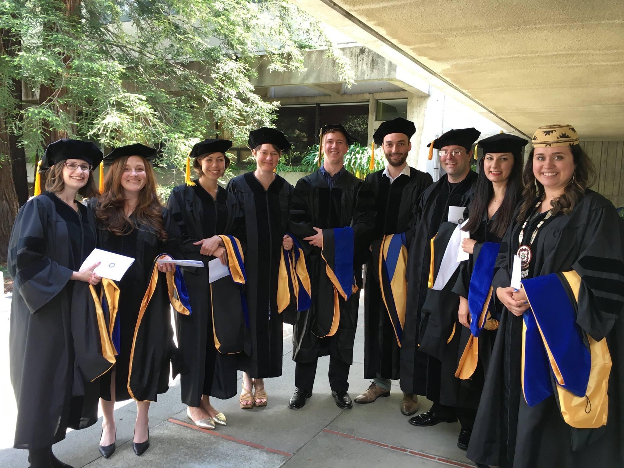 PhD recipients 2016
