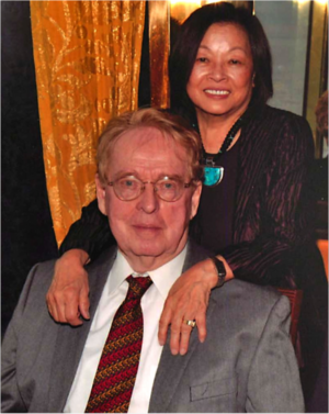 Chuck Fillmore and Lily Wong Fillmore