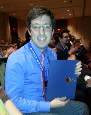 John Sylak-Glassman, Best Student Abstract Award, 2013