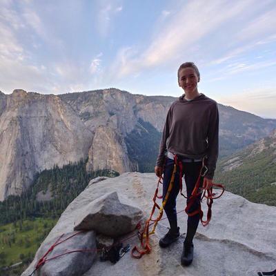 Emily Drummond on El Capitan