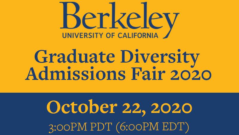 Graduate Diversity Fair, October 22, 2020
