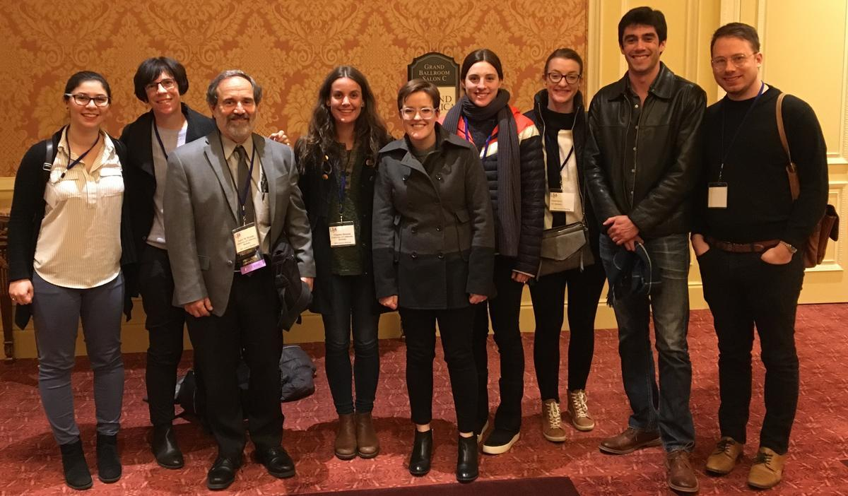 Berkeley linguists at LSA 2018