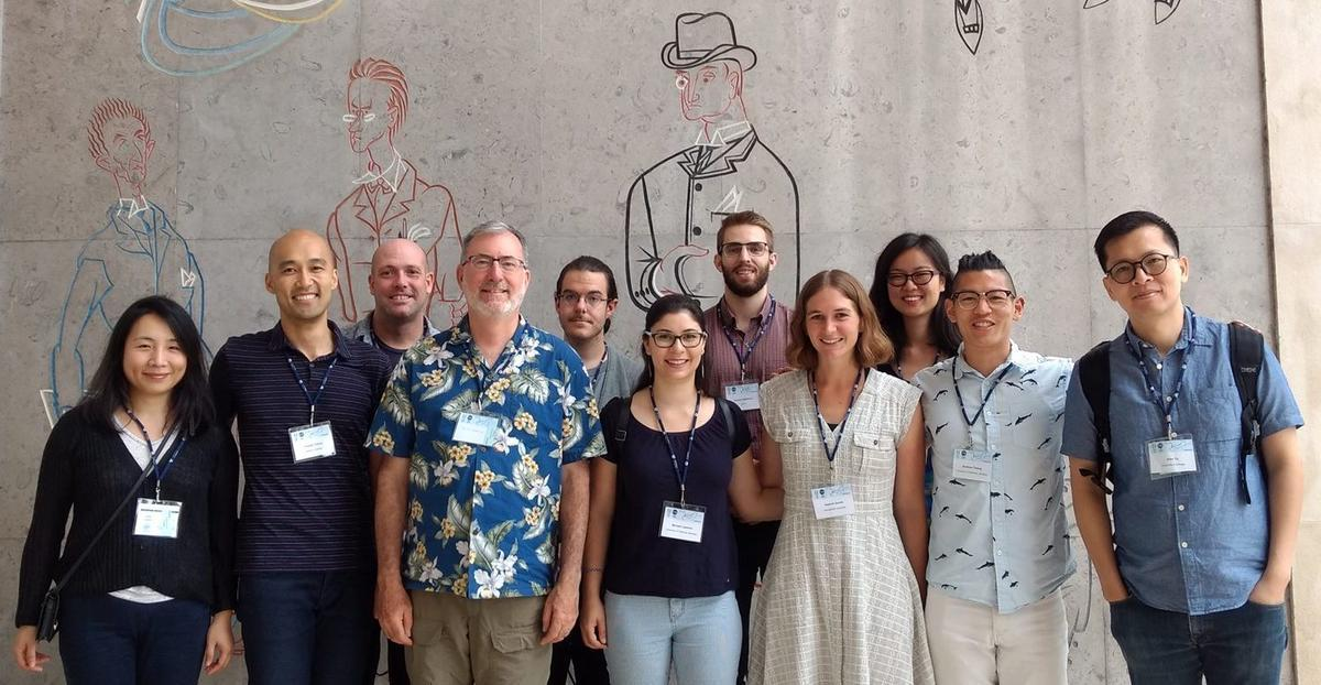 Berkeley faculty, students, and alum at LabPhon16 in Lisbon, Portugal
