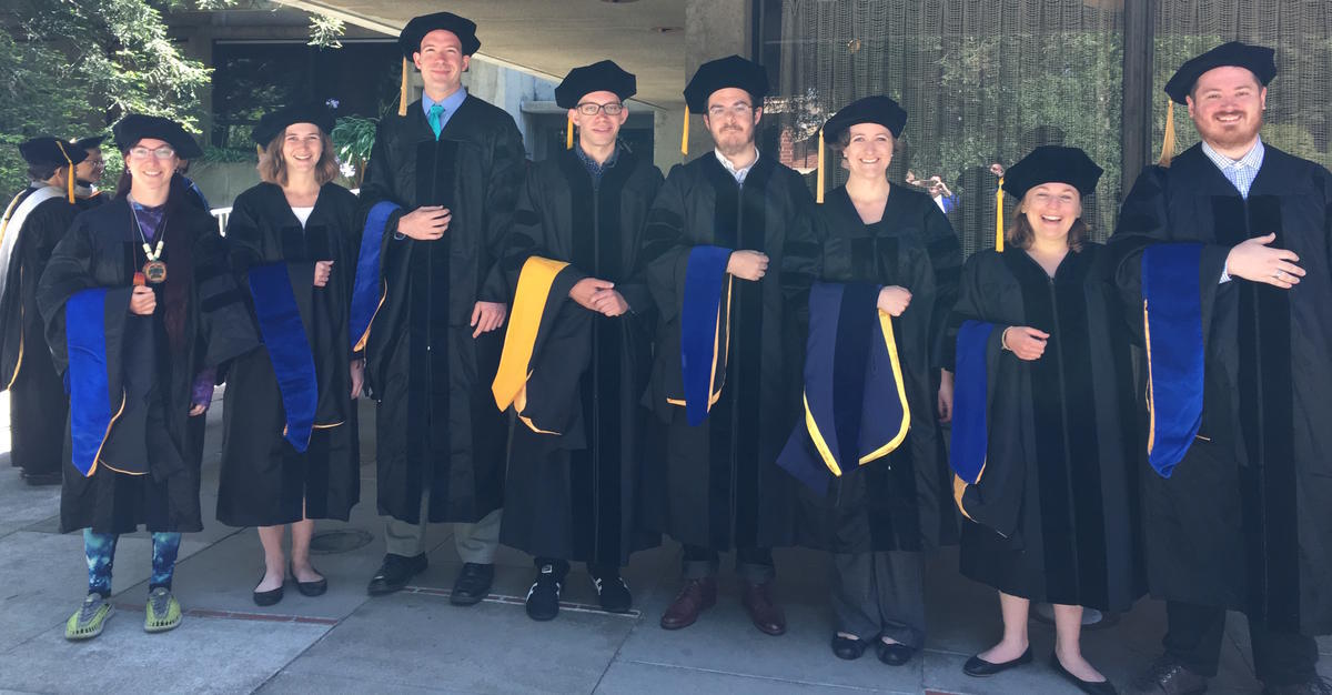 Linguistics PhD recipients, 2017