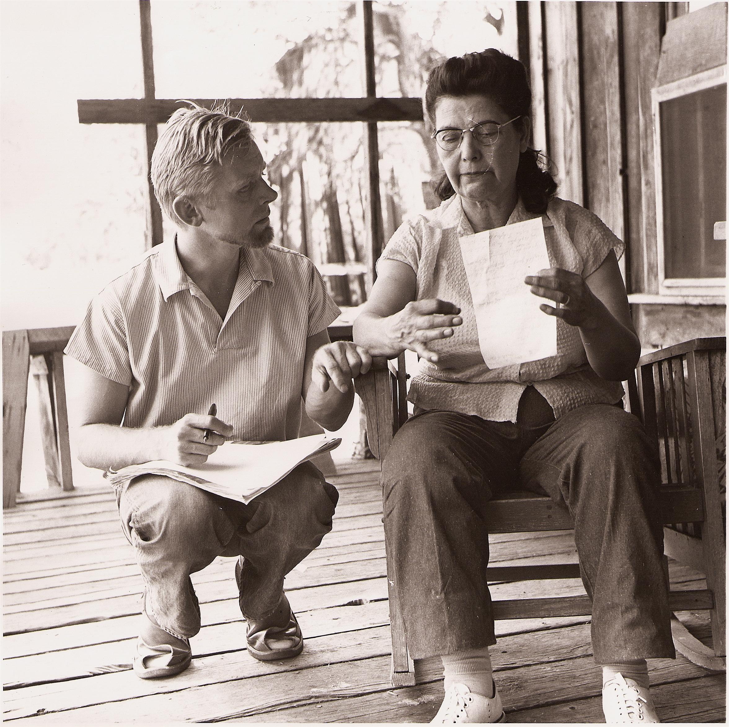 William Shipley and Maym Gallagher