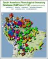 Sample map from the South American Areal Phonology Project