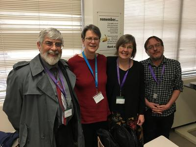 Cal faculty & alumni at the Algonquian Conference 2018