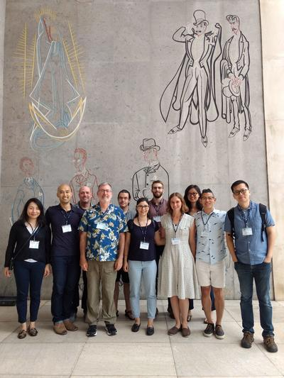 Berkeley linguists at LabPhon