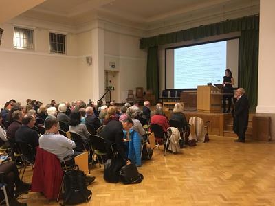 Mairi McLaughlin lecture, Oxford