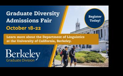 Graduate Diversity Admissions Fair flyer