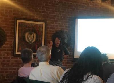 Susan Lin presenting